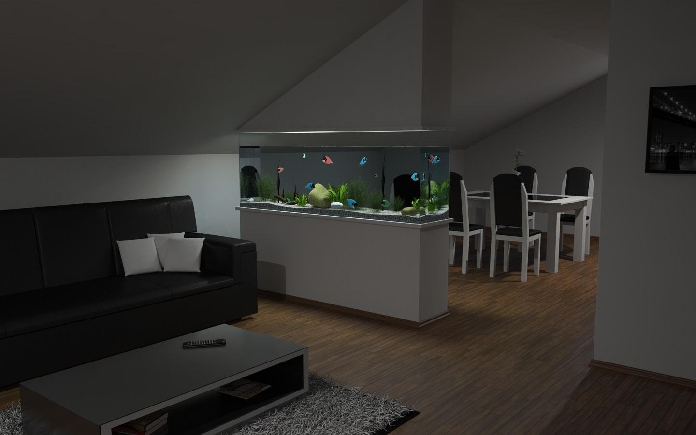 Een aquarium in de woonkamer: doen of niet? - 123INTERIEURBLOG